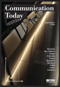 Communication Today 1-2010 (cover)