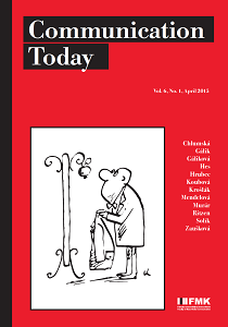 Cover: Communication Today 1/2014