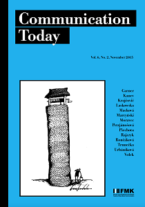 Cover: Communication Today 2/2015