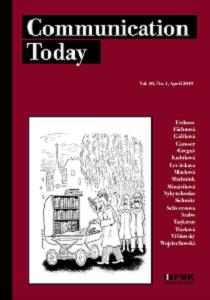 Cover: Communication Today 1/201í