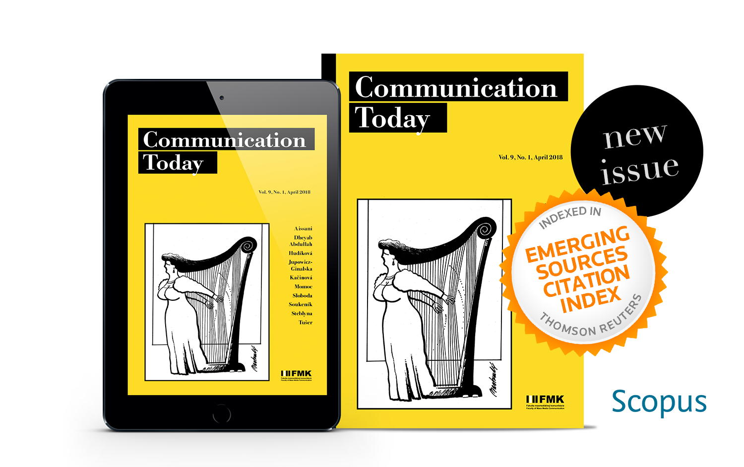 Cover: Communication Today no. 1, vol. 9