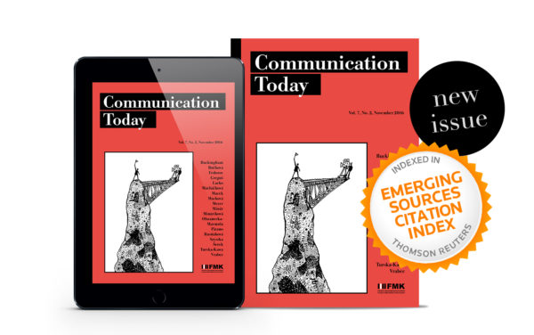 Cover: Communication Today no. 2, vol. 7