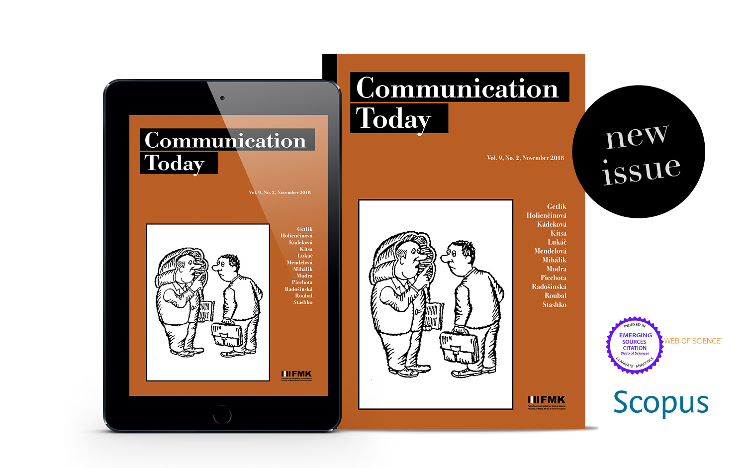 Cover: Communication Today no. 2, vol. 9