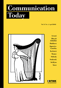 Cover: Communication Today 1/2018